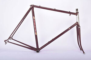 Purple Superia Apollo(??) frame in 60 cm (c-t) / 58.5 cm (c-c) Ishiwata 022