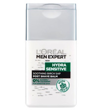 L'Oreal Men Expert Hydra Sensibile POST Balsamo Dopobarba 125 ML NATURAL BETULLA LINFA NUOVA