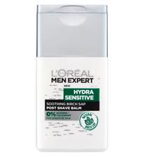 L'Oreal Men Expert Hydra Sensitive Post Shave Balm 125ml Natural Birch Sap NEW