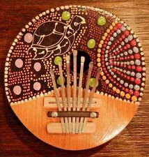 Colorful Turtle 7 Keys Mbira Karimba African Kalimba Handmade of Coconut Shell