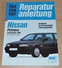 Nissan Primera 1,6l 2,0l  16V L LX SLX SGX GT Motor Reparaturanleitnung B1155
