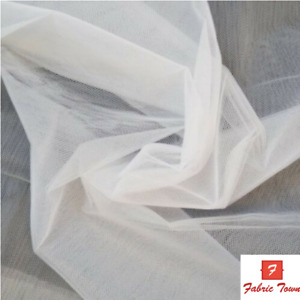 "Veiling Diamond Soft Dressing net Fabric Tutu Mesh Tulle Bridal Material 58""wide"