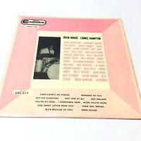 Lionel Hampton 'Open House' 1959 Mono Vinyl LP EX-/EX Nice Copy!