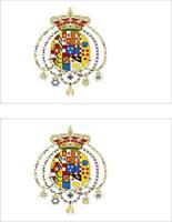 2x Adhesivo adesivi pegatina sticker vinilo bandera vinyl moto coche dos sicilia