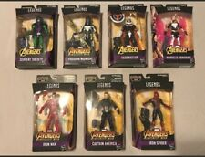 Marvel Legends Avengers Thanos BAF Series Complete Set Of 7 Captain America
