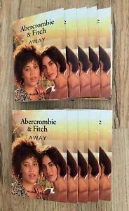 PARFUM PROBEN ABERCROMBIE & FITCH AWAY WOMAN/FEMME EAU DE PARFUM 10X2ML