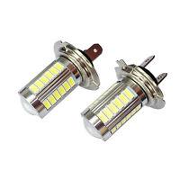 2PC H7 5630 SMD 33-LED 12V Weiß Auto Auto-Nebel-treibendes Licht-Lampen-Birne