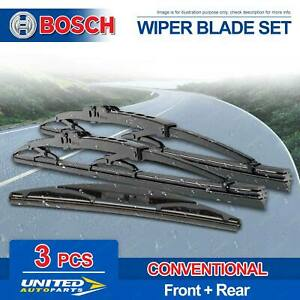 Bosch Wiper Blade Set for BMW X 5 F 15 X 5 M F 85 2013 - 2018 HBG