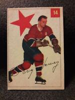 1954-55 Parkhurst #14 Doug Harvey Montreal Canadiens
