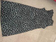 Ladies Size 12 Animal Print Sleeveless Dress