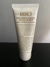 KIEHL'S PINEAPPLE PAPAYA FACIAL SCRUB MADE WITH REAL FRUIT EXTRACTS 3.4oz NEW!