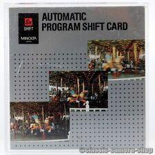Minolta scheda Chip Automatic Program SHIFT CARD Dynax 700si 7000i 8000i 7xi 9xi