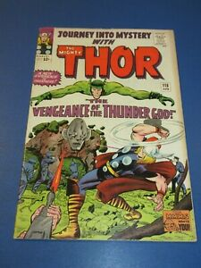 Journey Into Mystery #115 Silver age 2nd Absorbing Man Thor VGF Wow