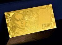 """★★ UKRAINE : BILLET POLYMER  """" OR """" DU 500 HRYVNIA UAH ★ GDCOLUK.0.6"""