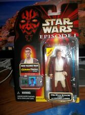 Star Wars TPM Episode I Obi-Wan Kenobi Naboo with Lightsaber BRAND NEW NICE