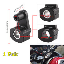 1 Pair 22mm 28mm Motorcycle Handlebar Handle Bar Heads Mount Clamp Risers Holder