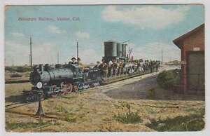 B9730: 1900's Venice, Ca Miniature R.R. Postcard