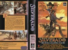 SILVERADO - Kevin Kline - VHS - PAL - NEW - Never played! - Original Oz release