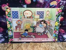 Mary Engelbreit Comfortable at Home Puzzle Jigsaw 1000 Piece 29x19 Go! Games Toy