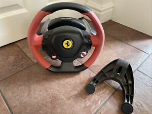 Thrustmaster Ferrari 458 Spider Racing Steering Wheel Xbox One & S