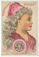 c1880s Eastmans Toilet Soap trade card