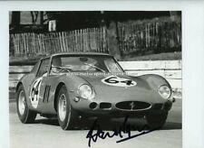 David Piper FERRARI 250 GTO Crystal Palace 1962 signé Photo 2