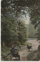 Vintage Postcard- Elkington Road near Louth -Lincolnshire England UK