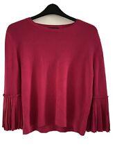 M&S Women's jumper - Magenta Size 14