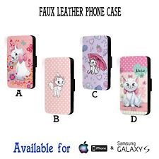 The Aristocats Disney Marie Berlioz Faux Leather Flip Phone Case Cover Y351