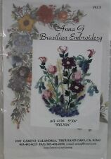 Sylvia Block/Picture Anna G Brazilian Embroidery AG4126 IVORY
