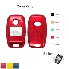 Paint Metallic Color Shell Cover fit for KIA Smart Remote Key Case 3 Button RD