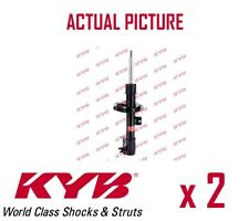 2 x NEW KYB FRONT AXLE SHOCK ABSORBERS PAIR STRUTS SHOCKERS OE QUALITY 333751