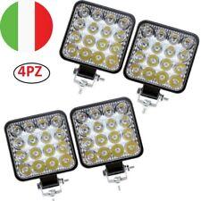 4X 48W LED LUCE FARO 12V LAMPADA DA LAVORO FARETTO AUTO BARCA CAMION SUV