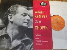 LXT 5445 Chopin Piano Works Vol. 1 / Kempff O/S