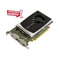 SCHEDA VIDEO NVIDIA QUADRO 2000D PNY 1GB GDDR5 PCI-E 2.0 DUAL DVI SCHEDA GRAFICA