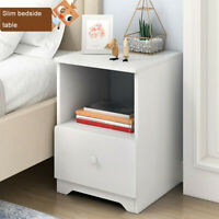 Assemble Storage Cabinet Bedroom Bedside Locker Single Drawer Nightstand