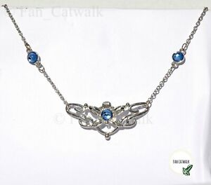 Eowyn Necklace Silver LOTR Lord of the Rings Shieldmaiden Woodland Wedding Rohan