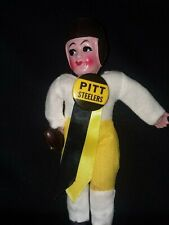 """Pittsburgh Steelers- Celluloid Doll with / 1 3/4 """" vintage pin - Near Mint"""