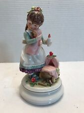 Goebel Girl and Doll Carriage Figurine 112673211978 Limited Edition AU 31