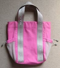 Marc Jacobs Pink / Grey Shoulder Bag - Casual for Beach / Gym Tote