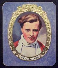 Willie den Ouden 1934 Garbaty Film Star Series 1 Embossed Cigarette Card #234