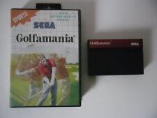 GOLFAMANIA - SEGA MASTER SYSTEM