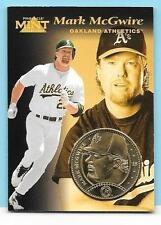 1997 Pinnacle Mint Coins #15 Mark McGwire Gold Plate Athletics