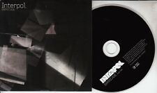 INTERPOL Barricade 2010 UK 1-track promo CD