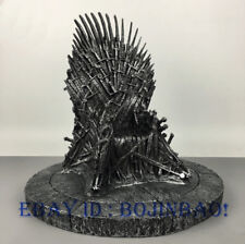 Game of Thrones Iron Throne Resin Model 14''H Phone Base Statue Toy Accessories