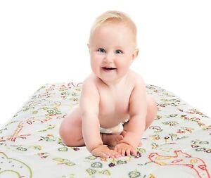 Aero Baby 3D Structure Waterproof Sleep Safe Mattress Protector Cot Bed 120 x 60