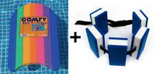 Schwimmset - Schwimmgürtel Senior + Comfy Regenbogen Schwimmbrett Schwimmhilfen
