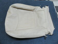 BMW 52106985938 E90 E91 PASSENGER FRONT SEAT BOTTOM LEATHER COVER BEIGE OEM