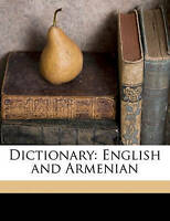 NEW Dictionary: English and Armenian by Harutiwn Awgerian