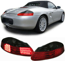 SMOKED LED REAR TAIL LIGHTS FOR PORSCHE BOXSTER 986 1996-2004 MODEL NICE GIFT